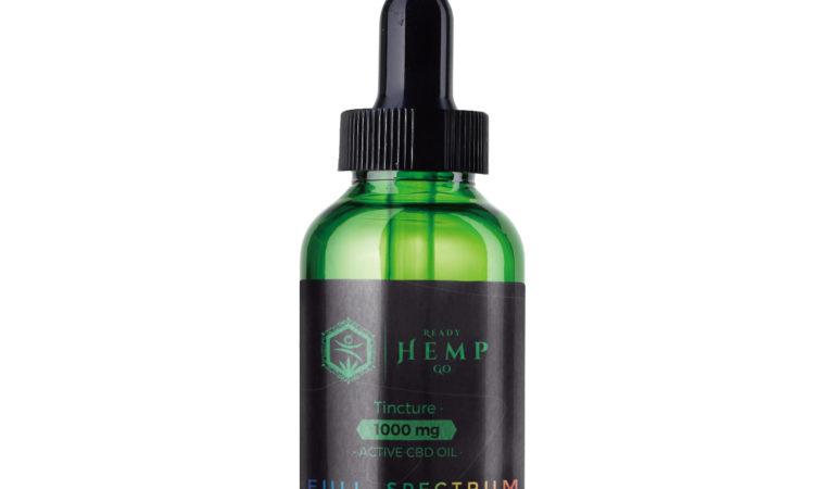 Full Spectrum CBD Oil by Ready Hemo Go Review